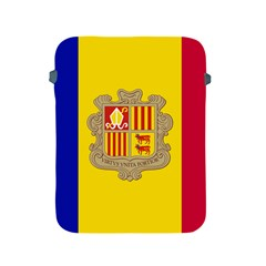 National Flag Of Andorra  Apple Ipad 2/3/4 Protective Soft Cases by abbeyz71