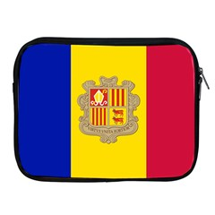 National Flag Of Andorra  Apple Ipad 2/3/4 Zipper Cases