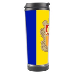 National Flag Of Andorra  Travel Tumbler
