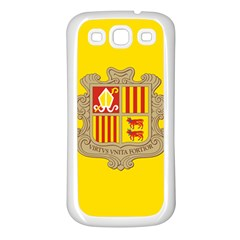 National Flag Of Andorra  Samsung Galaxy S3 Back Case (white)
