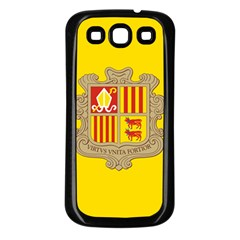 National Flag Of Andorra  Samsung Galaxy S3 Back Case (black)