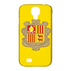 National Flag Of Andorra  Samsung Galaxy S4 Classic Hardshell Case (pc+silicone)