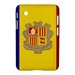 National Flag Of Andorra  Samsung Galaxy Tab 2 (7 ) P3100 Hardshell Case
