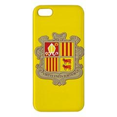 National Flag Of Andorra  Iphone 5s/ Se Premium Hardshell Case