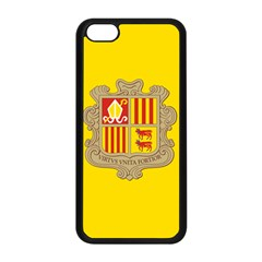National Flag Of Andorra  Apple Iphone 5c Seamless Case (black)