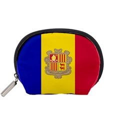 National Flag Of Andorra  Accessory Pouches (small)