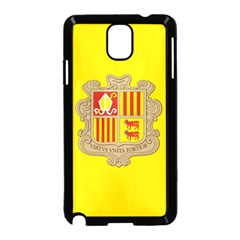National Flag Of Andorra  Samsung Galaxy Note 3 Neo Hardshell Case (black)