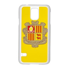 National Flag Of Andorra  Samsung Galaxy S5 Case (white)
