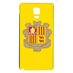 National Flag Of Andorra  Galaxy Note 4 Back Case