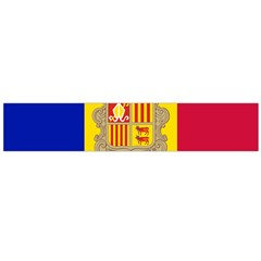 National Flag Of Andorra  Large Flano Scarf