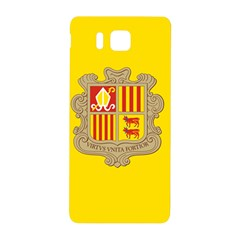 National Flag Of Andorra  Samsung Galaxy Alpha Hardshell Back Case