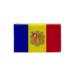 National Flag Of Andorra  Cosmetic Bag (xs)