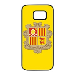 National Flag Of Andorra  Samsung Galaxy S7 Edge Black Seamless Case