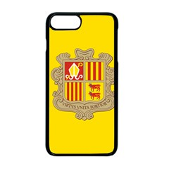 National Flag Of Andorra  Apple Iphone 7 Plus Seamless Case (black)