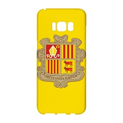 National Flag Of Andorra  Samsung Galaxy S8 Hardshell Case