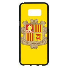 National Flag Of Andorra  Samsung Galaxy S8 Plus Black Seamless Case