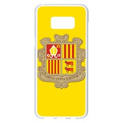 National Flag Of Andorra  Samsung Galaxy S8 Plus White Seamless Case