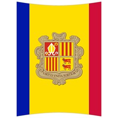 National Flag Of Andorra  Back Support Cushion