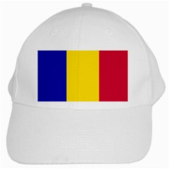 Civil Flag Of Andorra White Cap