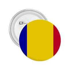 Civil Flag Of Andorra 2 25  Buttons