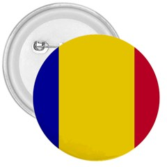 Civil Flag Of Andorra 3  Buttons