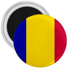 Civil Flag Of Andorra 3  Magnets