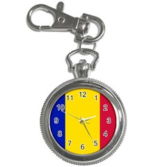 Civil Flag Of Andorra Key Chain Watches by abbeyz71