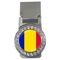 Civil Flag Of Andorra Money Clips (cz)