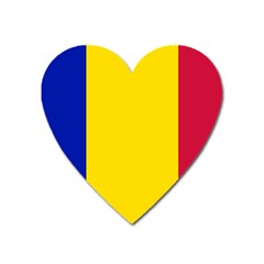 Civil Flag Of Andorra Heart Magnet