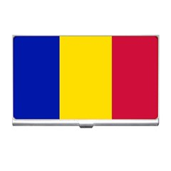 Civil Flag Of Andorra Business Card Holders