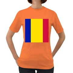 Civil Flag Of Andorra Women s Dark T Shirt