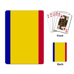 Civil Flag Of Andorra Playing Card