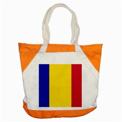 Civil Flag Of Andorra Accent Tote Bag