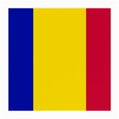 Civil Flag Of Andorra Medium Glasses Cloth (2 Side)