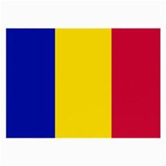 Civil Flag Of Andorra Large Glasses Cloth
