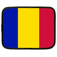 Civil Flag Of Andorra Netbook Case (large)