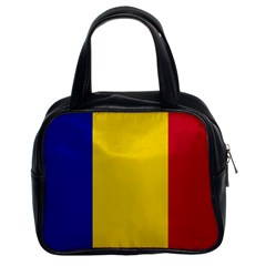 Civil Flag Of Andorra Classic Handbags (2 Sides)