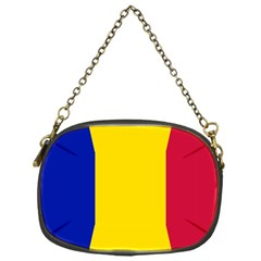 Civil Flag Of Andorra Chain Purses (one Side)
