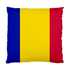 Civil Flag Of Andorra Standard Cushion Case (one Side)