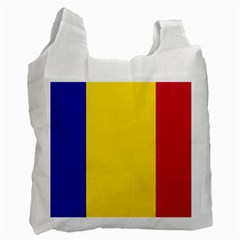 Civil Flag Of Andorra Recycle Bag (one Side)