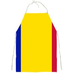 Civil Flag Of Andorra Full Print Aprons