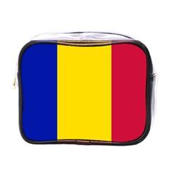 Civil Flag Of Andorra Mini Toiletries Bags