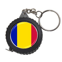 Civil Flag Of Andorra Measuring Tape