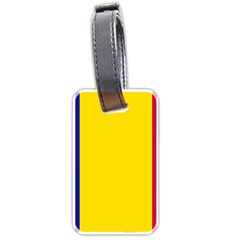 Civil Flag Of Andorra Luggage Tags (two Sides)