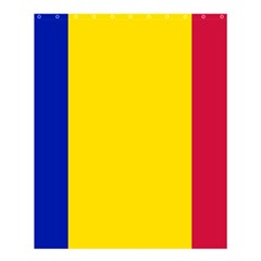 Civil Flag Of Andorra Shower Curtain 60  X 72  (medium)
