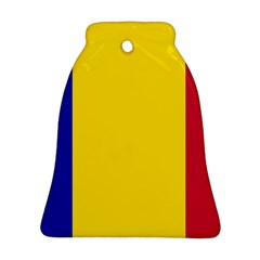 Civil Flag Of Andorra Bell Ornament (two Sides)
