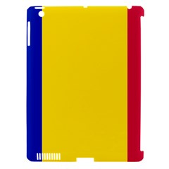 Civil Flag Of Andorra Apple Ipad 3/4 Hardshell Case (compatible With Smart Cover)