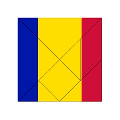 Civil Flag Of Andorra Acrylic Tangram Puzzle (4  X 4 )