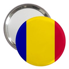 Civil Flag Of Andorra 3  Handbag Mirrors