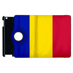 Civil Flag Of Andorra Apple Ipad 3/4 Flip 360 Case